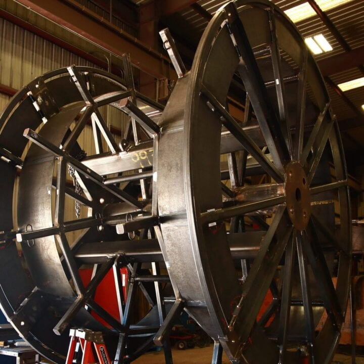 Flying Lead Spool | Industrial Manufacturing Houston TX
