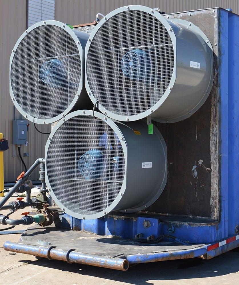 Large tube fans