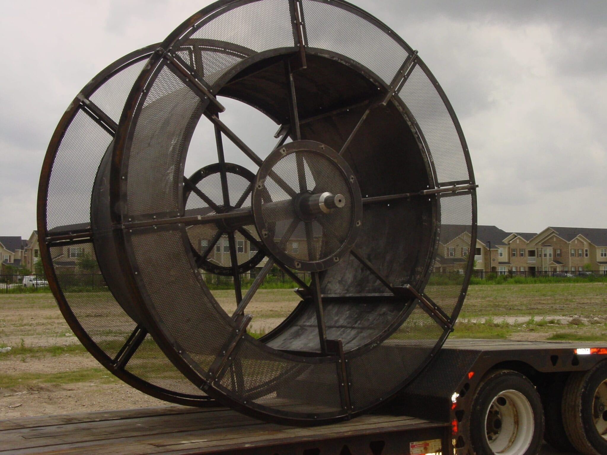 Coiled Tubing working reel- Spooltech