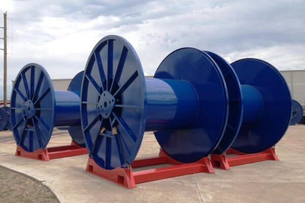 DNV certified spool and cradle