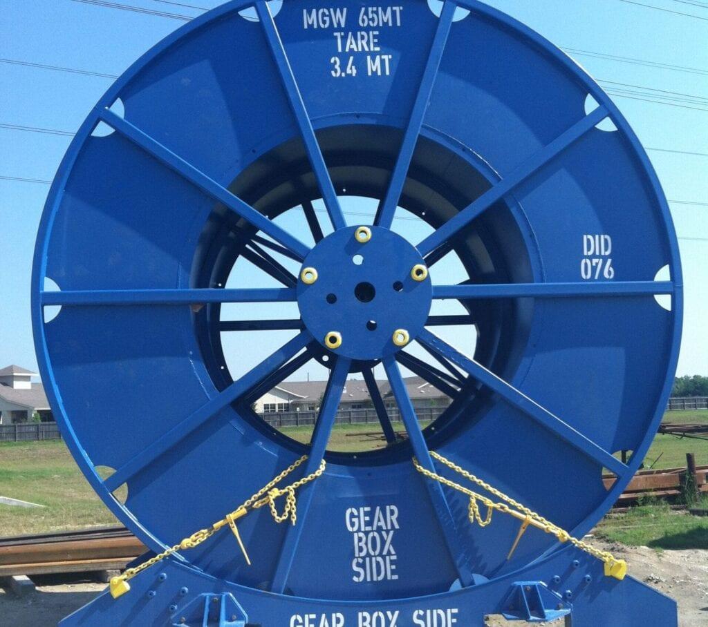 Large 10'x40' 3 phase separator
