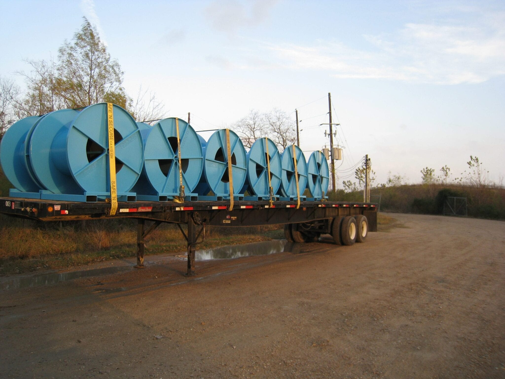 Stainless Capillary Spools | Industrial Manufacturing Houston TX