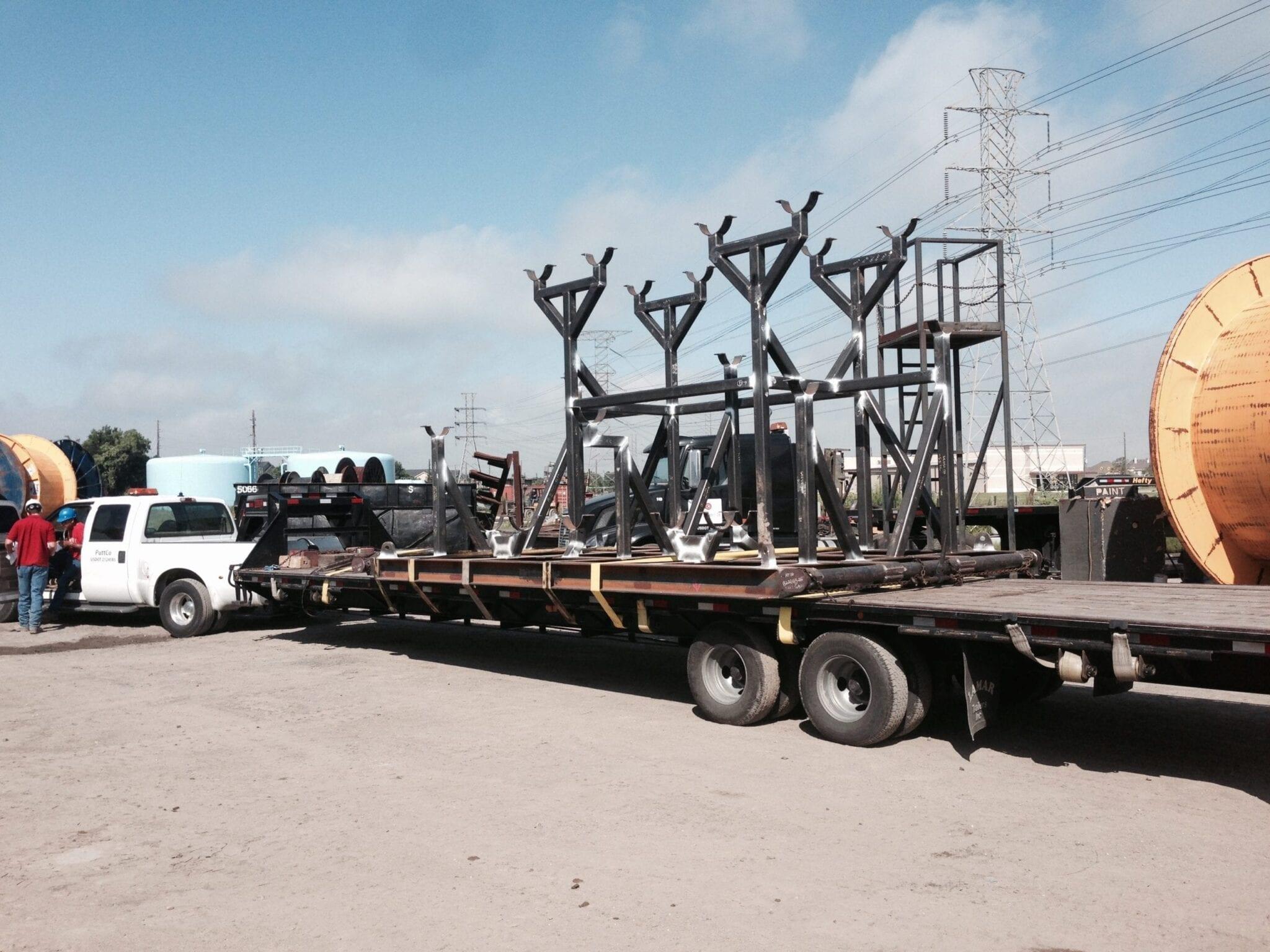Tall Equipment Skid- Spooltech