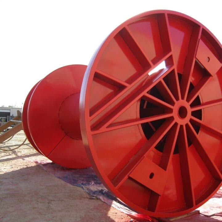 Umbilical spool | Houston Industrial Manufacturing
