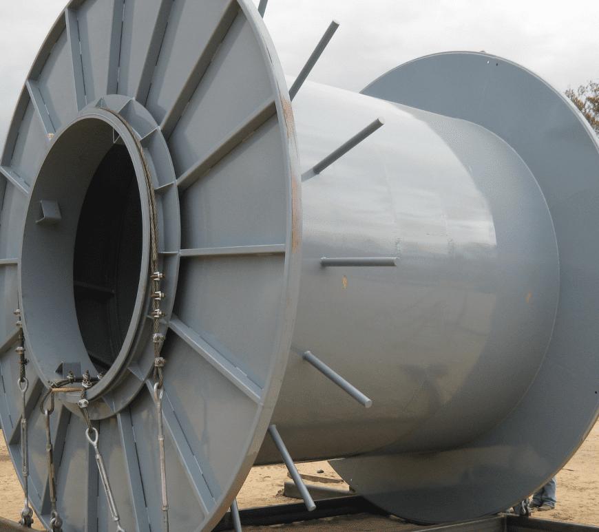 Umbilical Spool | Shipping Spool